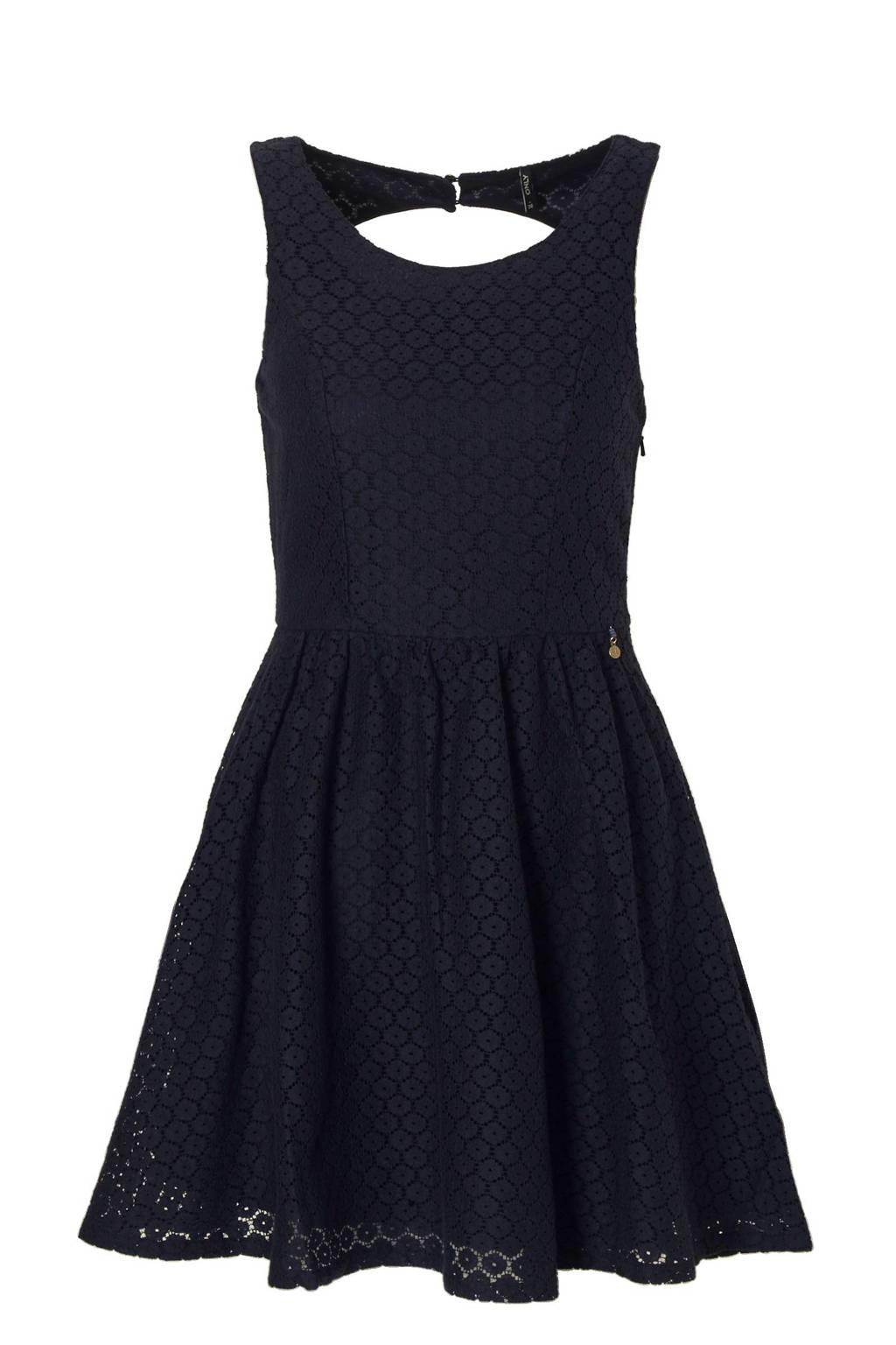 df4cc7b98eef43 ONLY kanten jurk met rugdecolleté