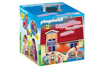 Dollhouse meeneem poppenhuis 5167