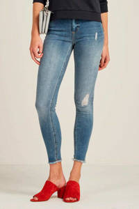 ONLY skinny jeans ONLBLUSH light blue denim, Blauw