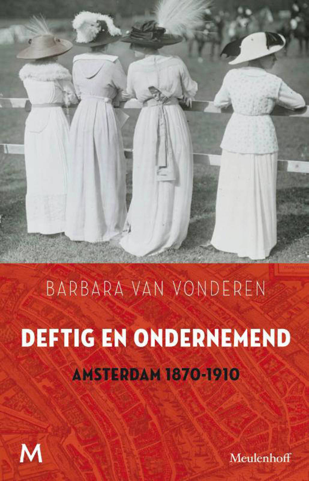 Deftig en ondernemend - Barbara van Vonderen