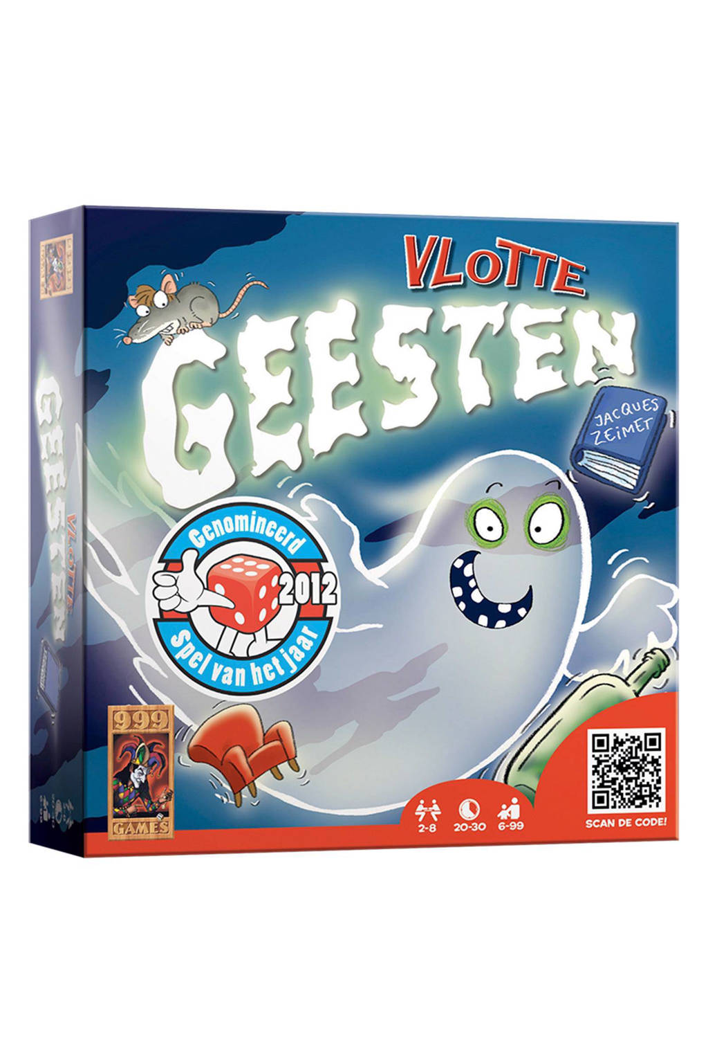 999 Games Vlotte geesten bordspel