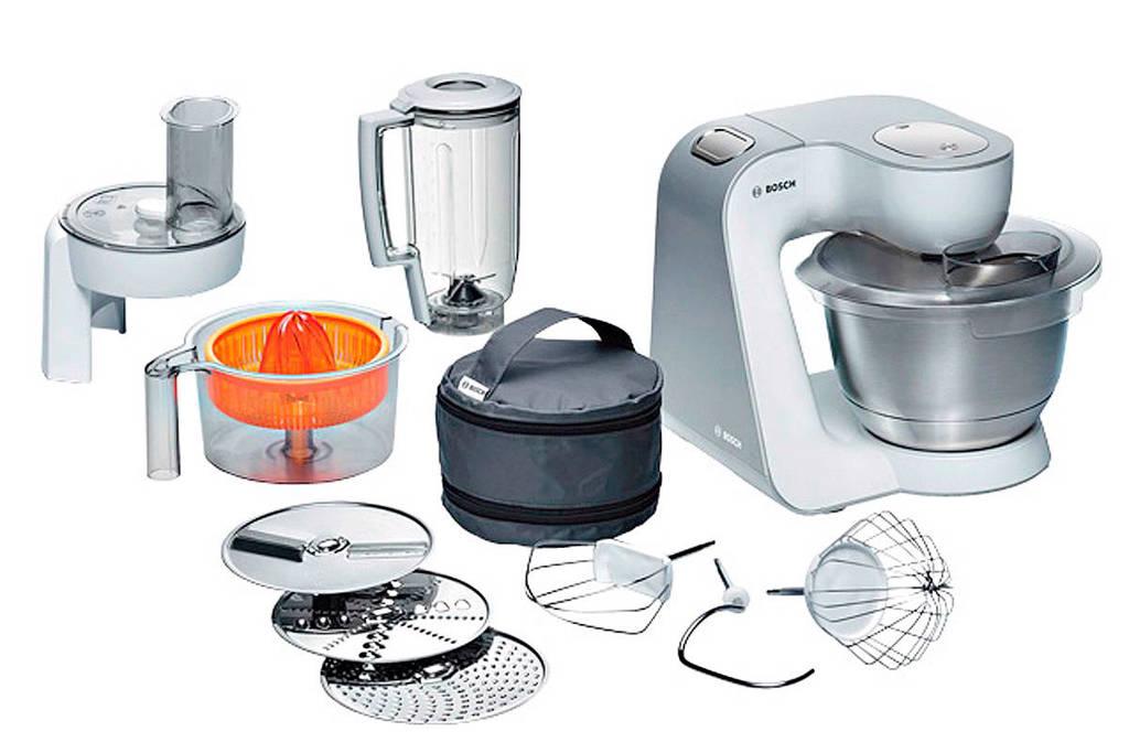 Bosch MUM54230 keukenmachine, Wit/grijs