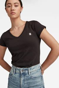 G-Star RAW Eyben T-shirt zwart, Zwart/wit