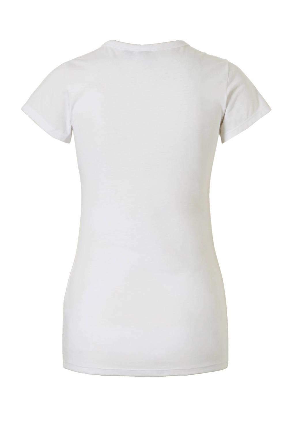 G-Star RAW Eyben T-shirt, Wit/zwart