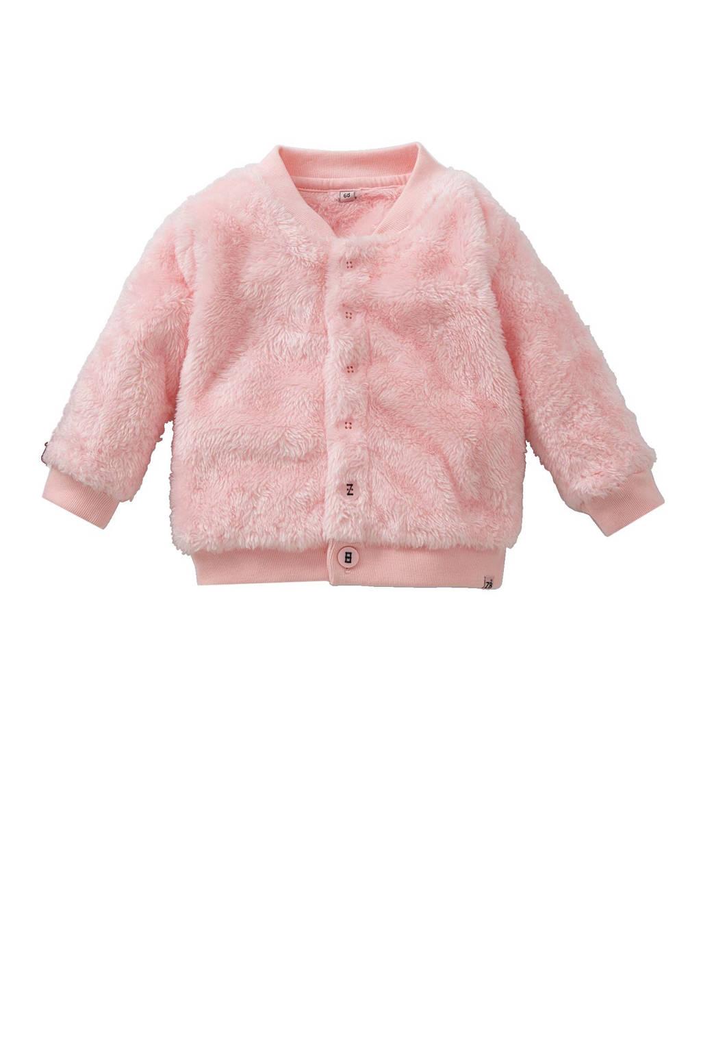 Z8 newborn baby vest Limestone, Roze