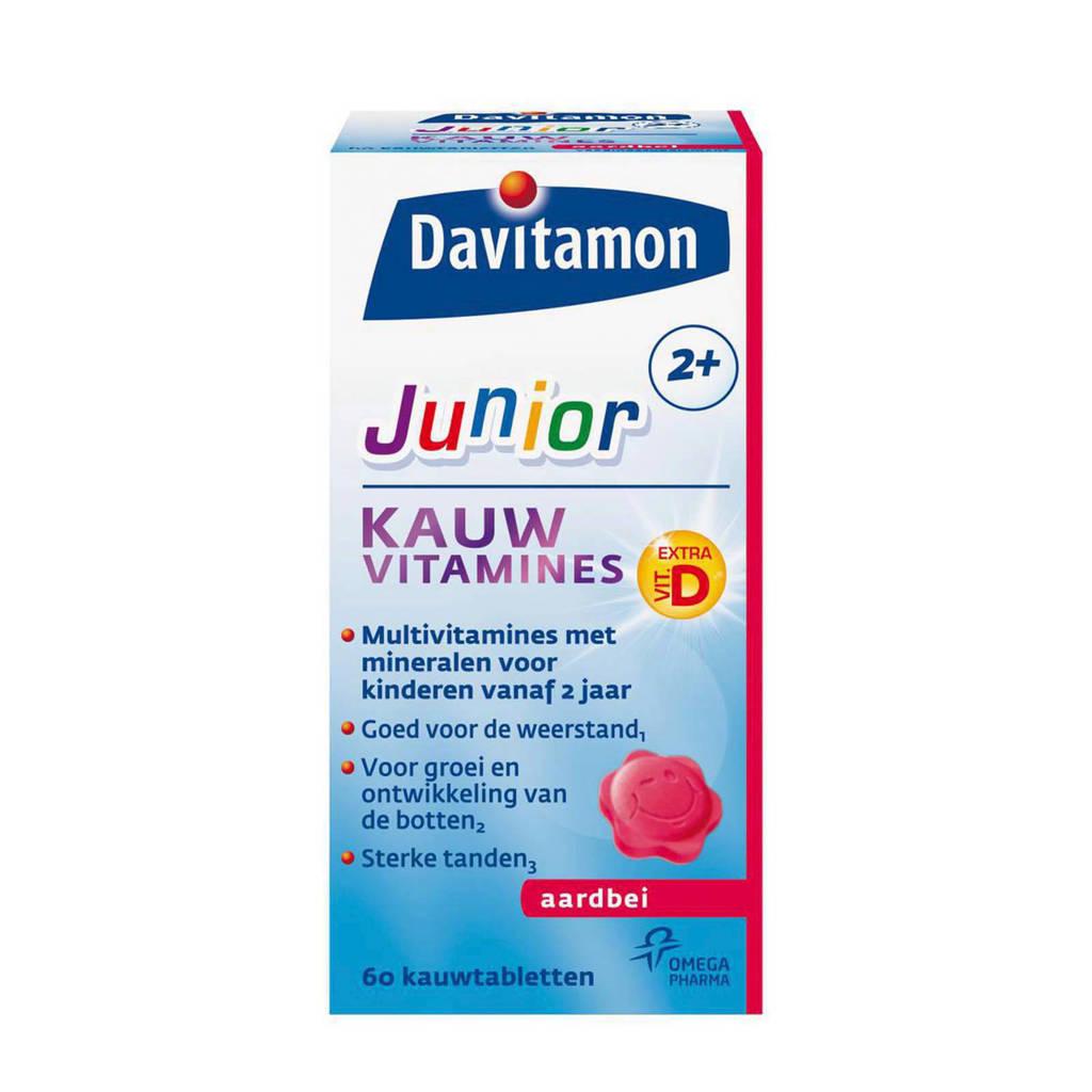 Davitamon Jr 2+ kauwvitamines - aardbei
