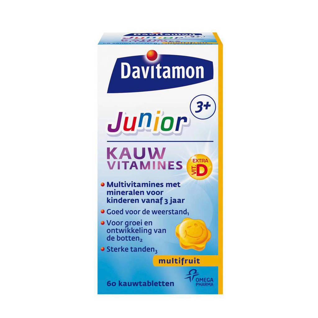Davitamon  Jr 3+ kauwvitamines - multifruit