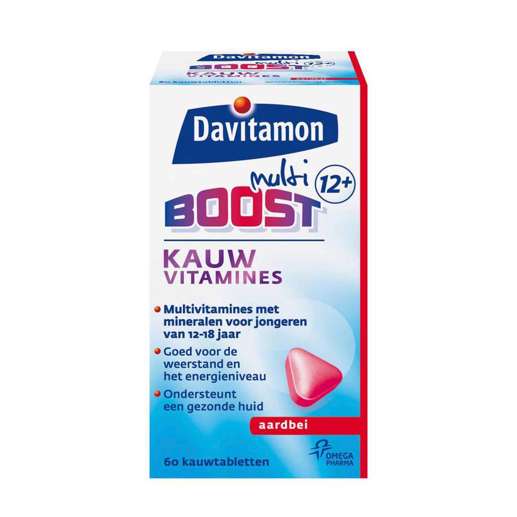 Davitamon Boost 12+ kauwvitamines - aardbei