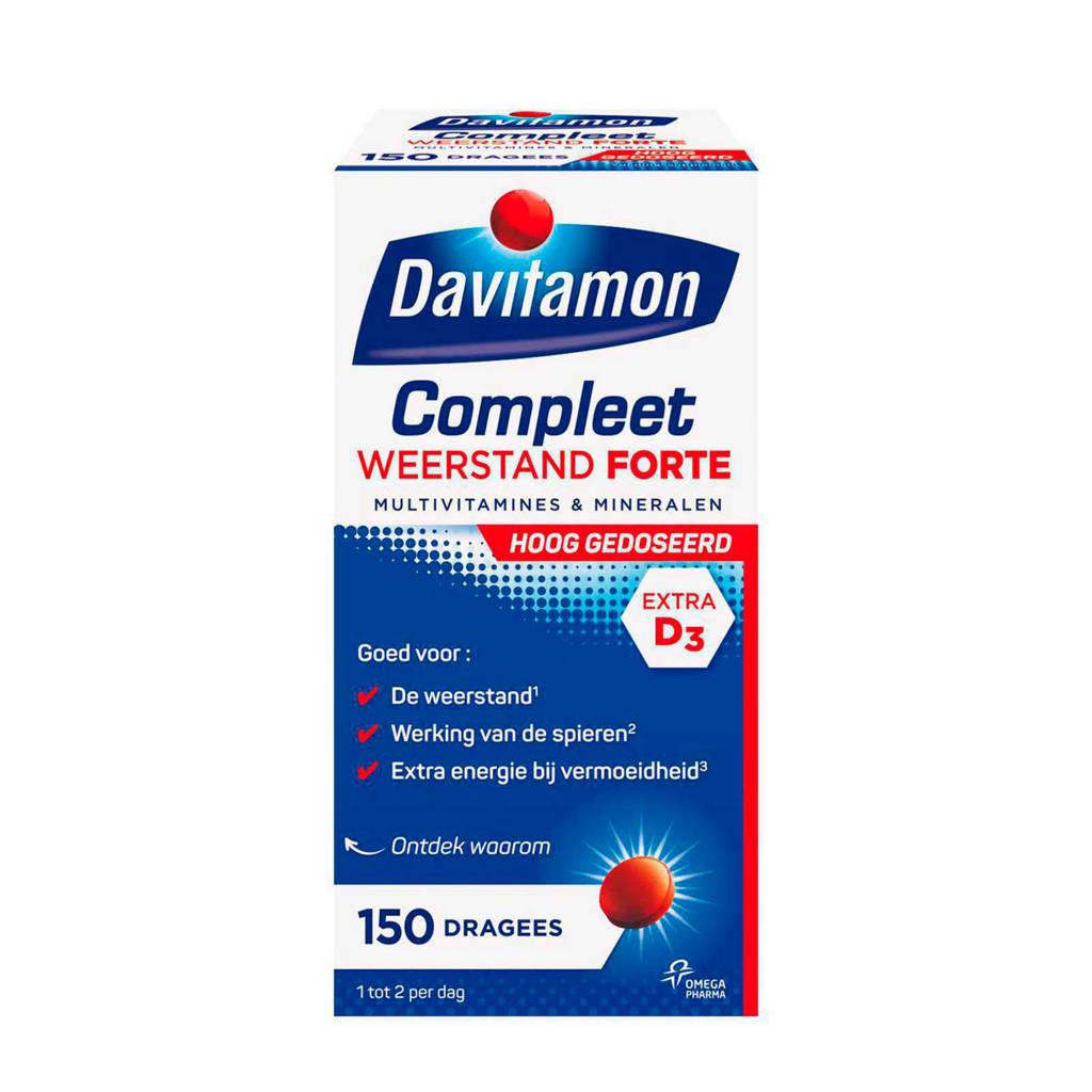 Davitamon Compleet Weerstand Forte multivitamines