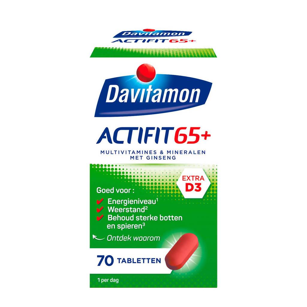 Davitamon Actifit 65+ vitamines