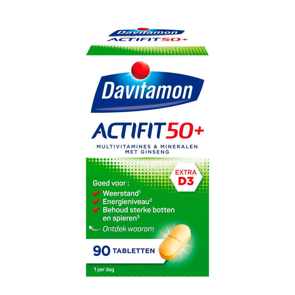 Davitamon Actifit 50+ multivitamines