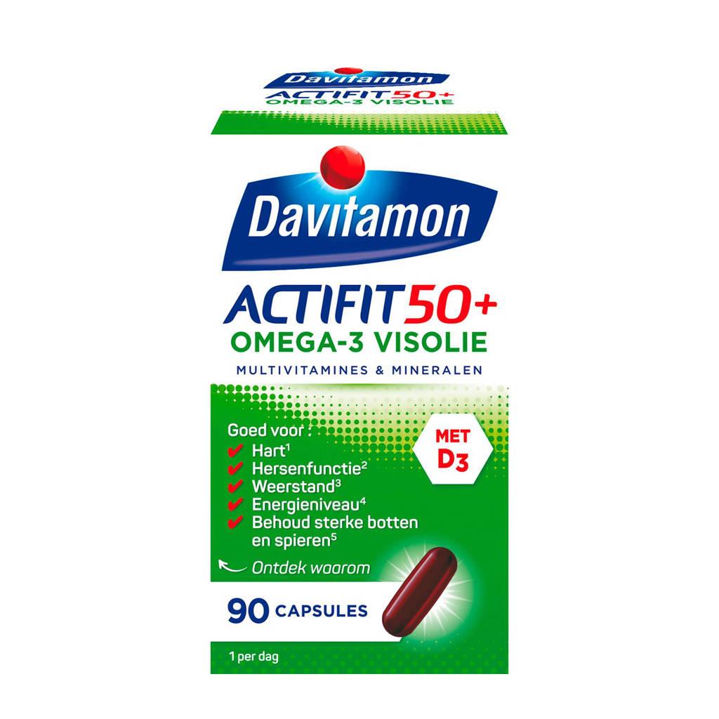 Davitamon Actifit 50+ omega-3 visolie