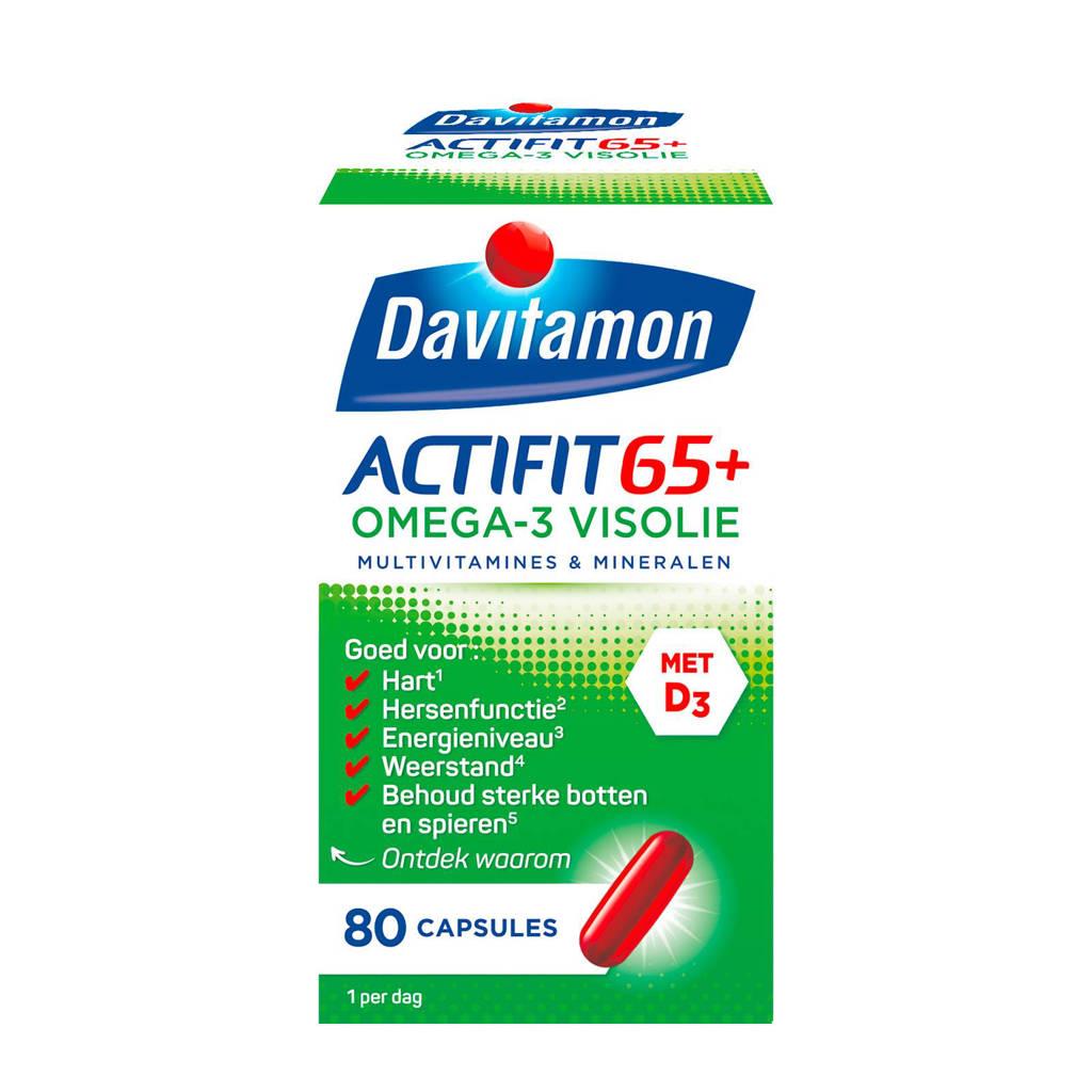 Davitamon Actifit 65+ omega-3 visolie