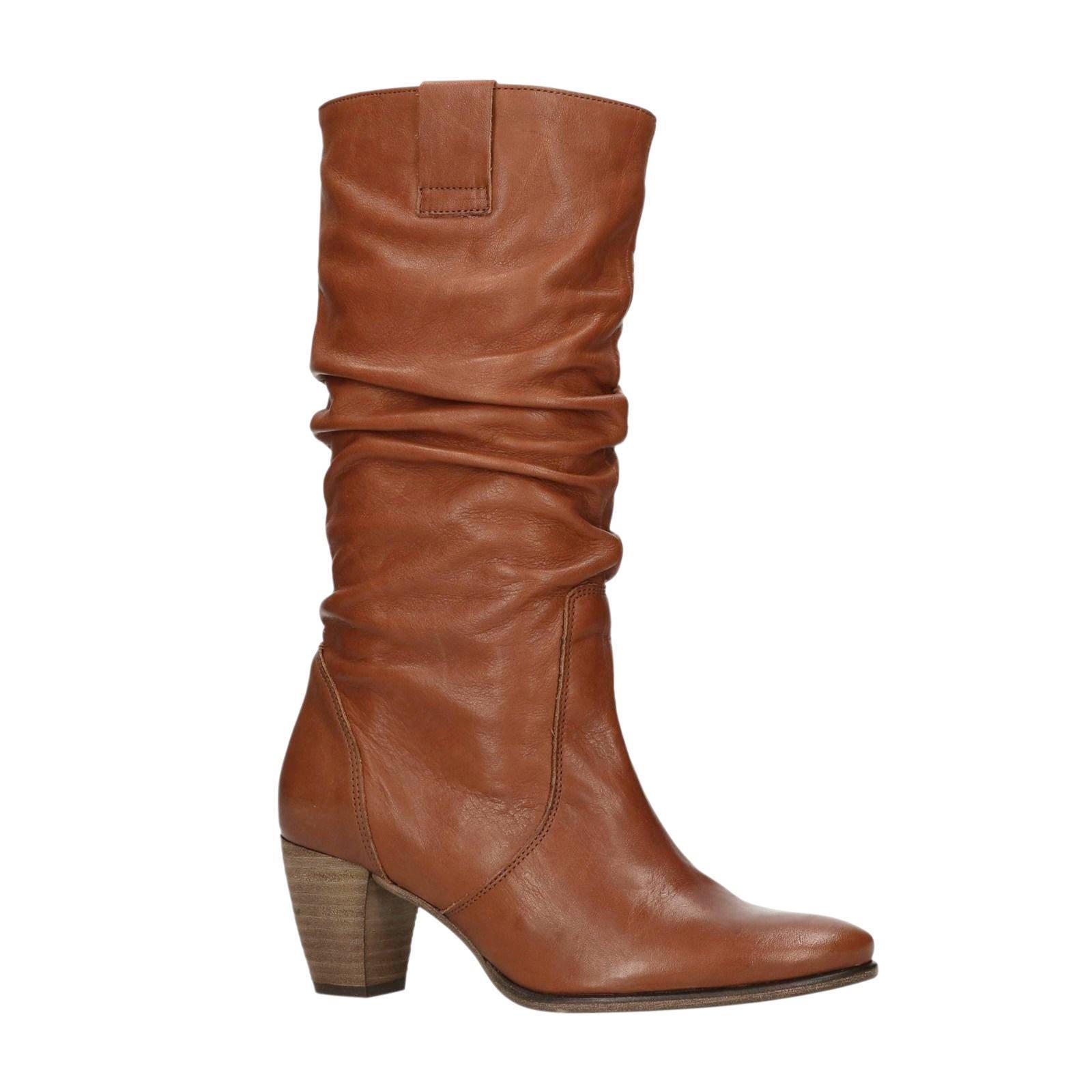Leren dames laarzen sale