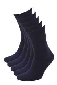 whkmp's own sokken - set van 5 marine, Marine