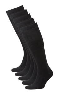 whkmp's own kniekousen - set van 5 zwart, Zwart