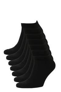 whkmp's own sneakersokken (7 paar), Zwart