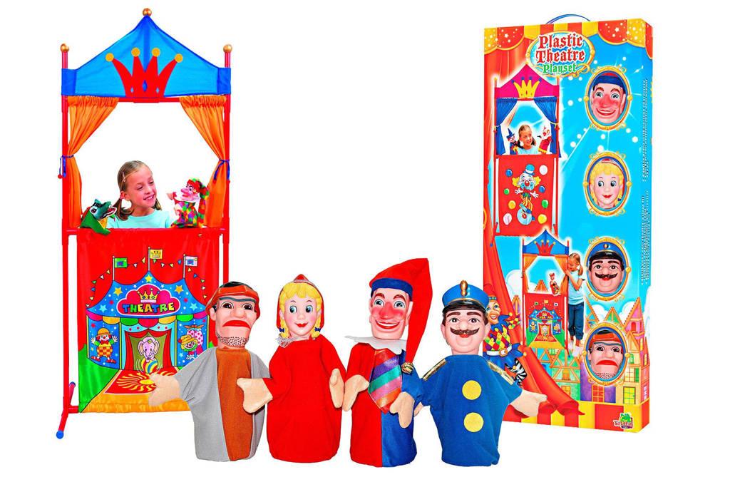 Van der Meulen  Poppenkast met 4 poppen