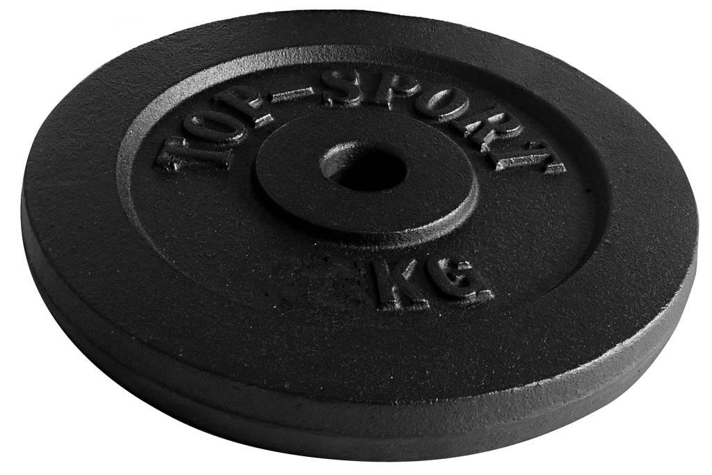 Christopeit halterschijf (20 kg), Zwart