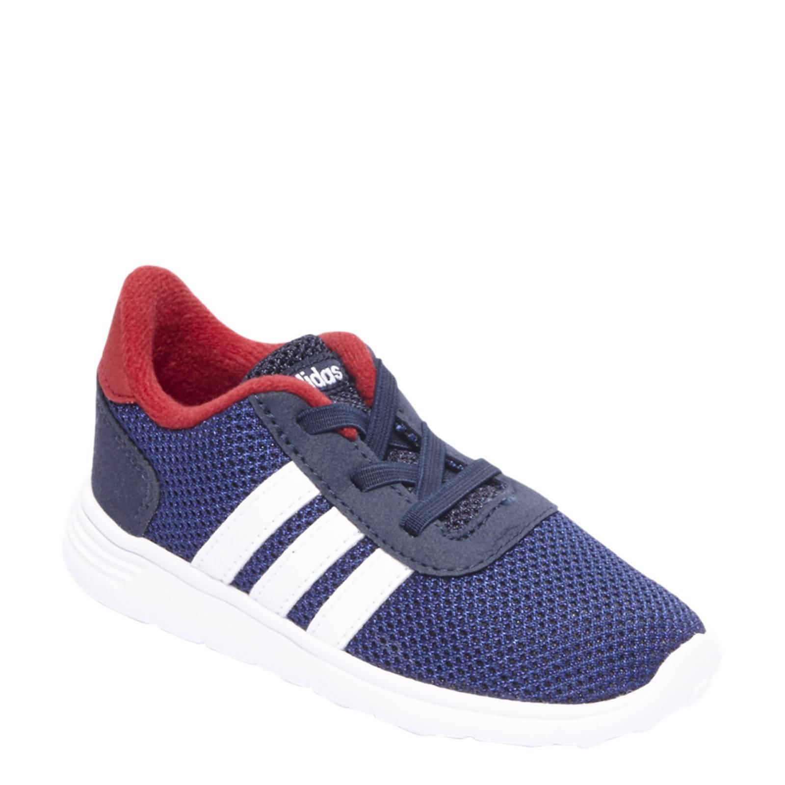 adidas neo blauw rood