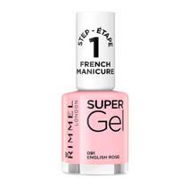 Rimmel London SuperGel French Manicure SuperGel French Manicure - 091 English Rose