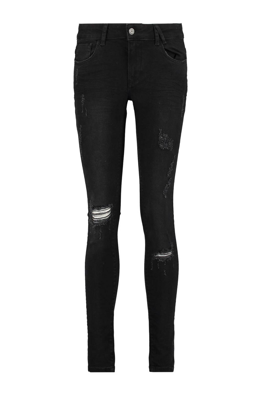 America Today Penelope skinny jeans, Zwart