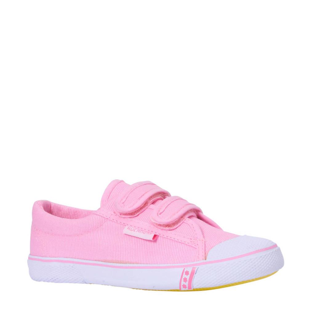 7fb7a3153db895 Rucanor meisjes Frankfurt gymschoenen roze, Lichtroze/wit