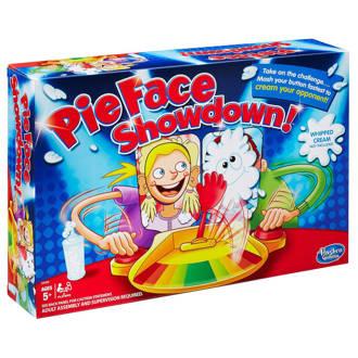 Pie Face showdown kinderspel