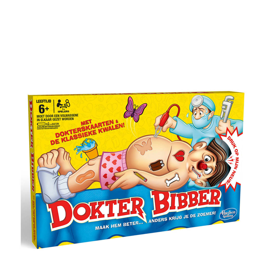 Hasbro Gaming Dokter Bibber