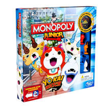 Hasbro Gaming Monopoly junior Yo-Kai watch kinderspel