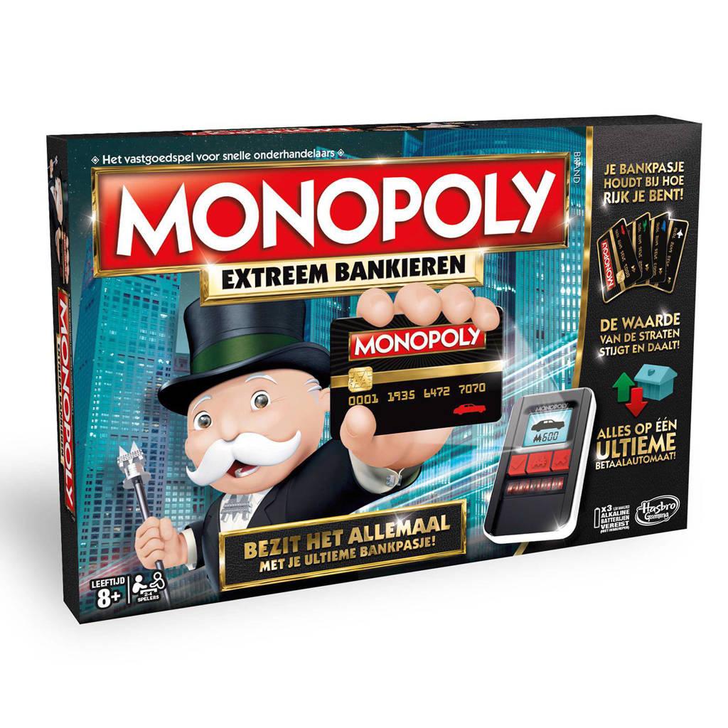 Hasbro Gaming Monopoly extreem bankieren  bordspel