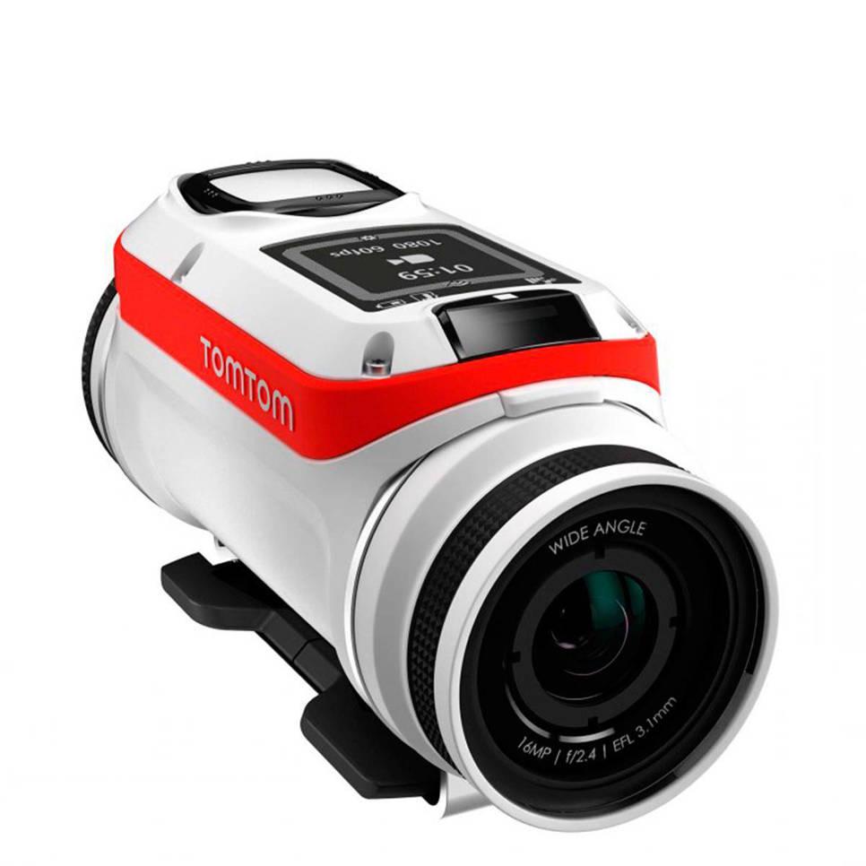 TomTom Bandit Bike Pack action camera, Zwart;Rood;Wit