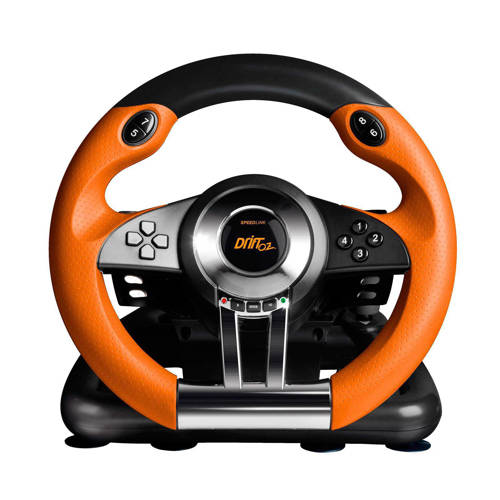Speedlink , DRIFT O.Z. Racing Wheel (Zwart / Oranje) PC kopen