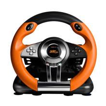 , DRIFT O.Z. Racing Wheel (Zwart / Oranje) PC