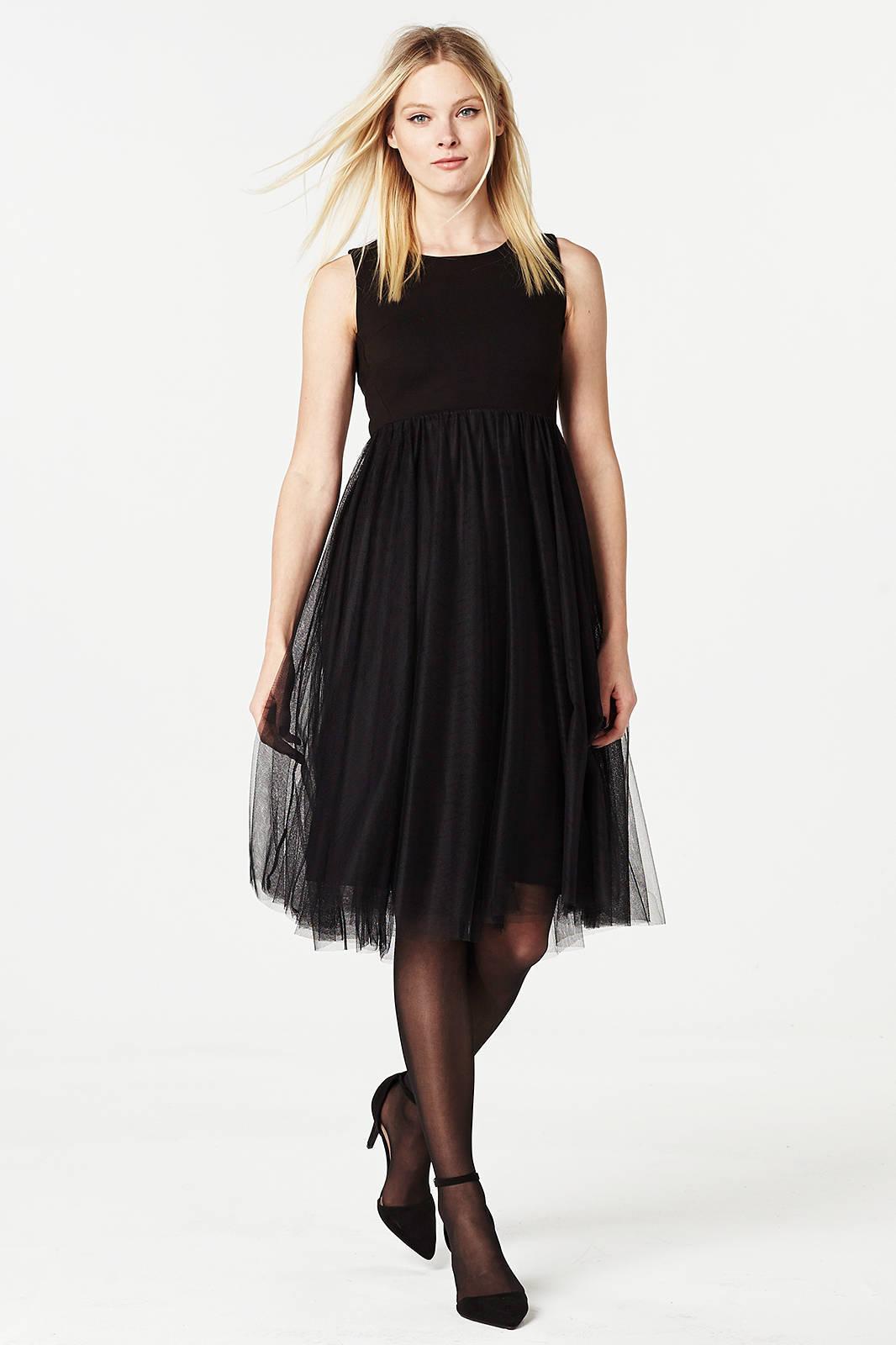 jurk met tule dames