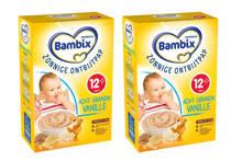 zonnige ontbijtpap - acht granen vanille (2 stuks)