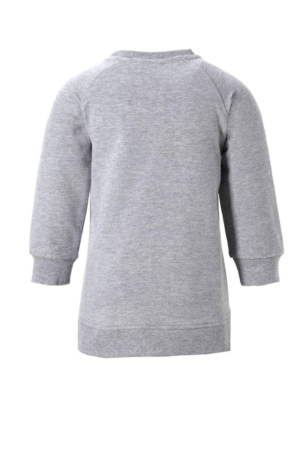 5e2c1796289904 name it sweater, Grijs melange