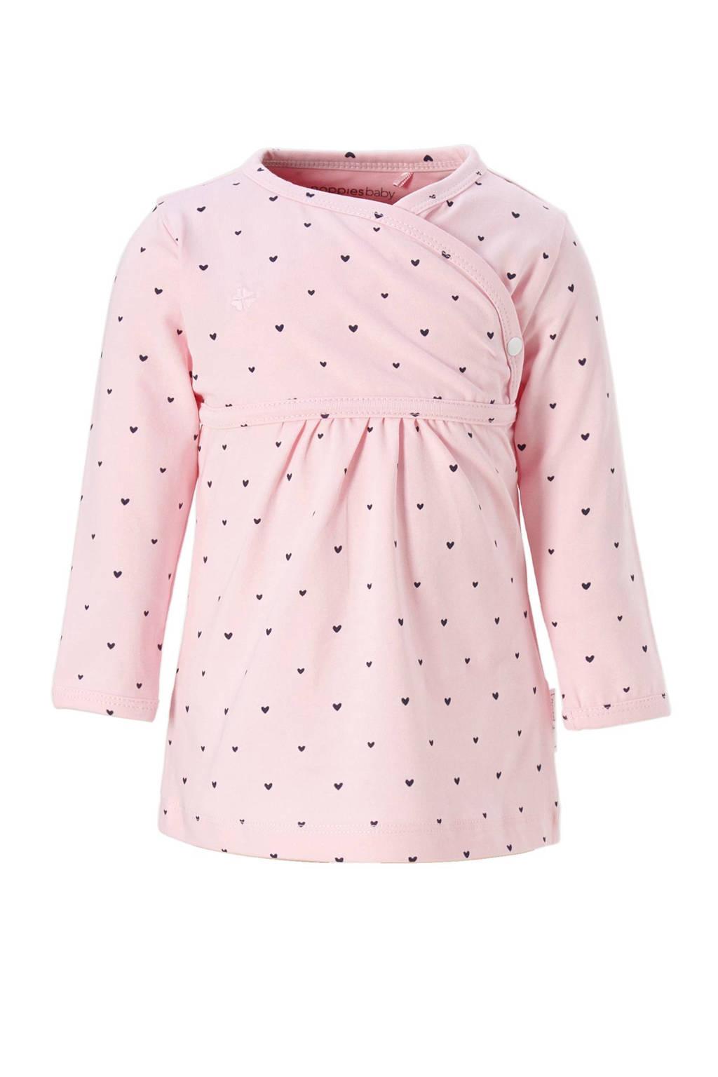 Noppies newborn baby jurk, Roze