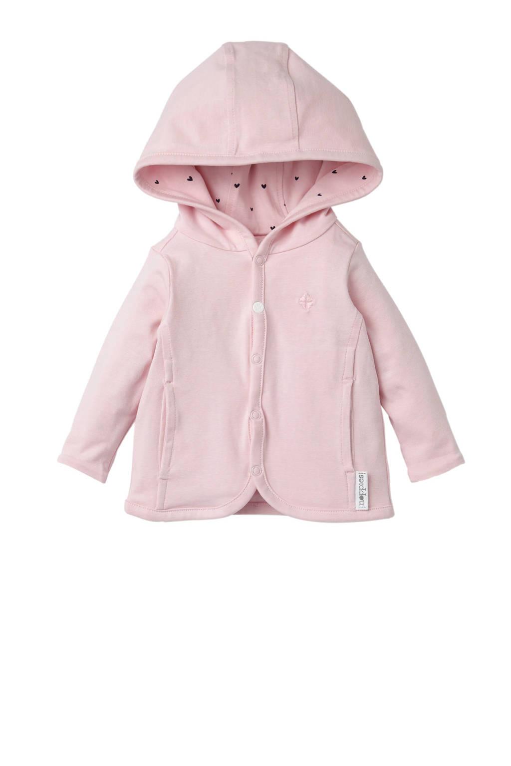 Noppies newborn baby vest, Roze