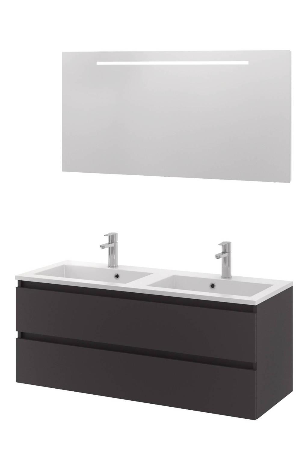 Bruynzeel Spiegel Met Verwarming.Sanitair Badkamermeubel Cadiza 120