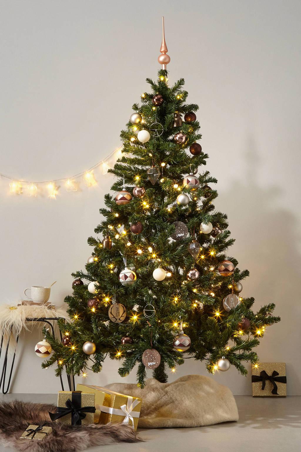 Black Box verlichte kerstboom Canmore (h185 x ø115 cm), Groen