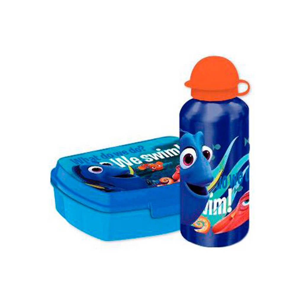 Disney Finding Dory lunchset, Blauw/rood