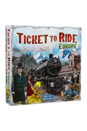 Ticket to Ride Europa bordspel