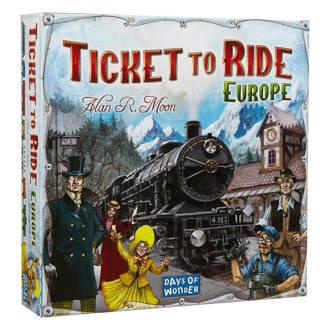 Ticket to Ride Europa bordspel