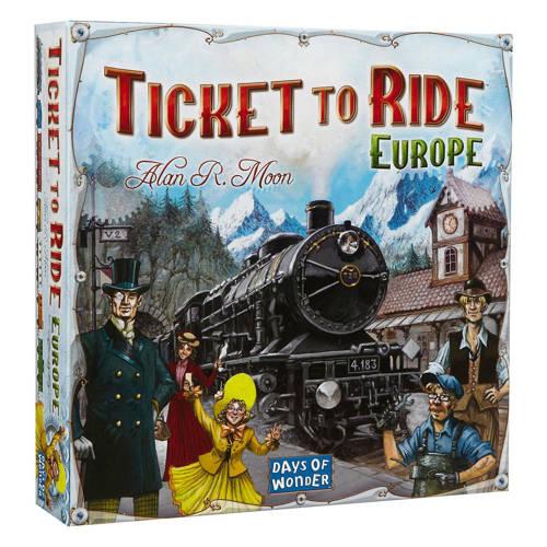 Wehkamp-Days of Wonder Ticket to Ride Europa bordspel-aanbieding
