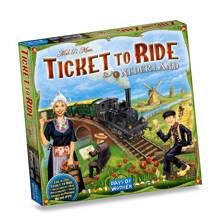 Ticket to Ride uitbreidingsset Nederland Uitbreidingsspel