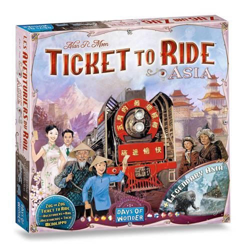Days of Wonder Ticket to Ride uitbreidingsset Asia Uitbreidingsspel kopen