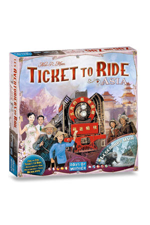 Ticket to Ride Asia uitbreidingsspel
