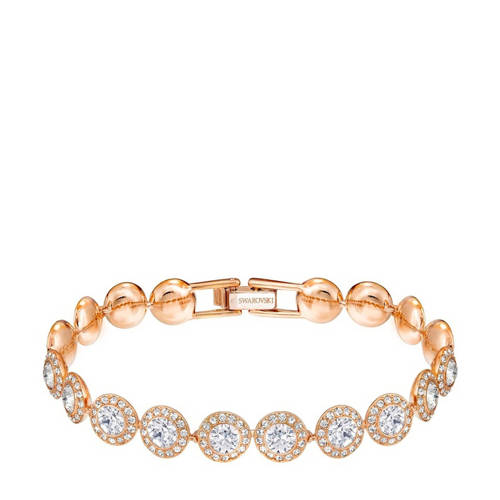 Swarovski Angelic Bracelet White Rose gold-plated