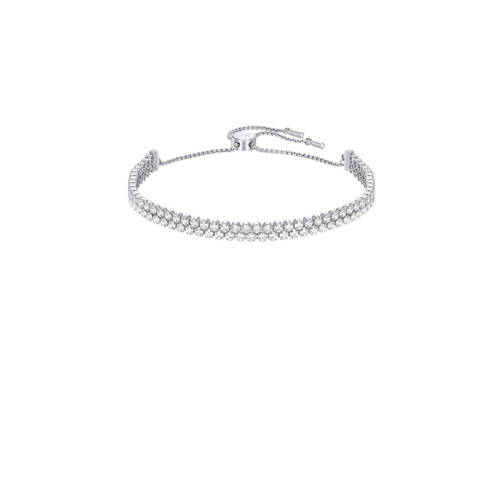 Swarovski Subtle Bracelet White Rhodium-plated